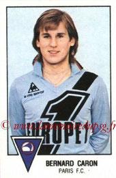 N° 215 - Bernard CARON (1978-79, Paris FC > 1979-80, PSG)
