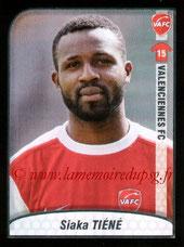 N° 514 - Siaka TIENE (2009-10, Valenciennes > 2010-13, PSG)