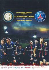 Programme  Inter Milan-PSG  2015-16