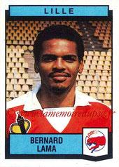 N° 127 - Bernard LAMA (1987-88, Lille > 1992-97 puis 1998-00, PSG)
