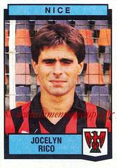 N° 257 - Jocelyn RICO (1987-88, Nice > 1988-89, PSG)