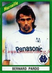 N° 097 - Bernard PARDO (1990-91, Marseille > 1991-92, PSG)