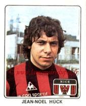 N° 191 - Jean-Noël HUCK (1977-78, Nice > 1979-81, PSG)