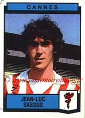 N° 069 - Jean-Luc SASSUS (1987-88, Cannes > 1992-94, PSG)