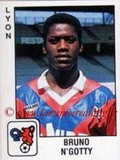 N° 112 - Bruno N'GOTTY (1989-90, Lyon > 1995-98, PSG)