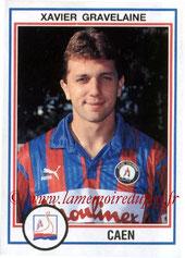 N° 039 - Xavier GRAVELAINE (1992-93, Caen > 1993-94 et Jan à Juin 1999, PSG)