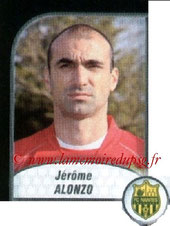 N° 622 - Jérome ALONZO (2001-08, PSG > 2009-10, Nantes)