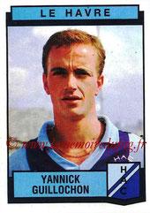 N° 095 - Yannick GUILLOCHON (1982-85, PSG > 1987-88, Le Havre)