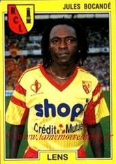N° 073 - Jules BOCANDE (1986-87, PSG > 1991-92, Lens)