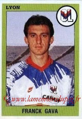N° 128 - Franck GAVA (1993-94, Lyon > 1997-98, PSG)