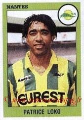 N° 217 - Patrice LOKO (1993-94, Nantes > 1995-98, PSG)