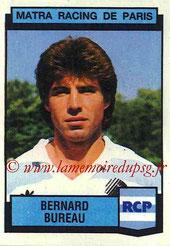 N° 178 - Bernard BUREAU (1978-81, PSG > 1987-88, Matra Racing)