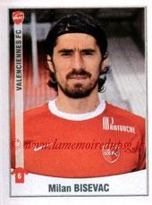 N° 504 - Milan BISEVAC (2010-11, Valenciennes > 2011-12, PSG)