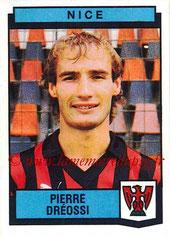 N° 254 - Pierre DREOSSI (1987-88, Nice > 1988-89, PSG)