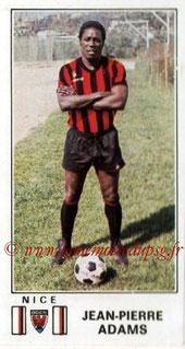 N° 197 - Jean-Pierre ADAMS (1976-77, Nice > 1977-79, PSG)