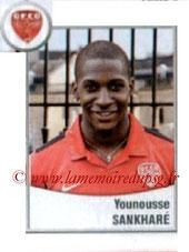 N° 571 - Younousse SANKHARE (2007-11, PSG > 2010-11, Prêt Dijon)