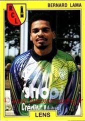 N° 064 - Bernard LAMA (1991-92, Lens > 1992-97 puis 1998-00, PSG)
