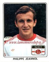 N° 156 - Philippe JEANNOL (1977-78, Nancy > 1984-91, PSG)