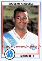 N° 101 - Jocelyn ANGLOMA (1990-91, PSG > 1992-93, Marseille)