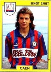 N° 027 - Benoit CAUET (1991-92, Caen > 1996-97, PSG)