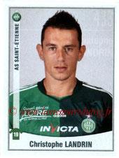 N° 433 - Christophe LANDRIN (2005-06, PSG > 2010-11, Saint-Etienne)