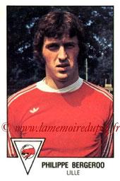 N° 077 - Philippe BERGEROO (1978-79, Lille > 1998 à Mars 99, Entraîneur adjoint PSG > Mars 99-Déc 2000 > Entraîneur PSG)
