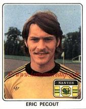 N° 178 - Eric PECOUT (1977-78, Nantes > 2000-??, Cellule recrutement PSG)