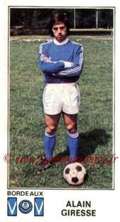 N° 051 - Alain GIRESSE (1976-77, Bordeaux > Juil à Déc 98, Entraîneur du PSG)