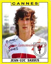 N° 057 - Jean-Luc SASSUS (1988-89, Cannes > 1992-94, PSG)
