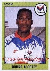 N° 124 - Bruno N'GOTTY (1993-94, Lyon > 1995-98, PSG)