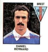 N° 417 - Daniel BERNARD (1977-78, PSG > 1978-79, Brest, D2)