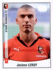 N° 407 - Jérome LEROY (1995-99 et 2002-03, PSG > 2010-11, Rennes)