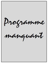 Programme  Wasquehal-PSG  2015-16