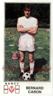 N° 163 - Bernard CARON (1976-77, Nancy > 1978-79, PSG)