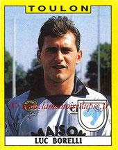 N° 340 - Luc BORELLI (1988-89, Toulon > 1993-95, PSG)