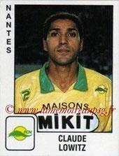 N° 219 - Claude LOWITZ (1985-87, PSG > 1989-90, Nantes)