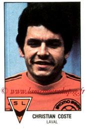 N° 059 - Christian COSTE (Christian COSTE (1978-79, Laval > 1984-85, Entraîneur PSG)