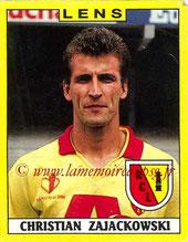 N° 096 - Christian ZAJACKOWSKI (1987-88, PSG > 1988-89, Lens)