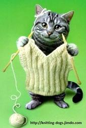как ухаживать за вязаными изделиями Knitting Dogs свитер для