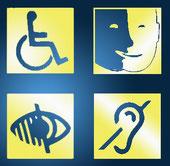 Pictogrammes d'accessibilité