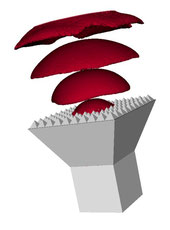 3-dimensionale optische Simulation mit OPUS 3D.