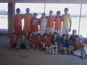 Campeón Comarcal 2011 Alevín e Infantil en el Día del Deporte Escolar