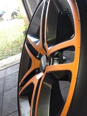 Shelby GT 500 - Felgenfolierung