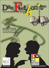 Das Festkomitee - Aushang Badener Maske 2012