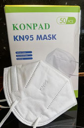 Medical FFP2 / KN95 Mask Filtration >= 95%