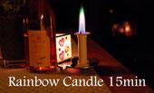 Rainbow Candle 15min