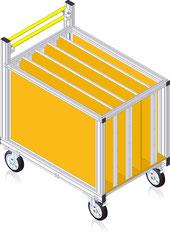 79-104 Rollcontainer für B-Schläuche
