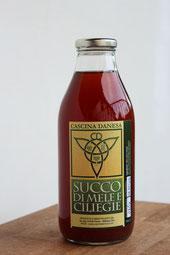 Succo di mele e ciliegie_ Cascina Danesa