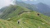 Foto di gruppo al Passo di Monscera m. 2103
