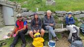 Foto di gruppo sul monte Croce